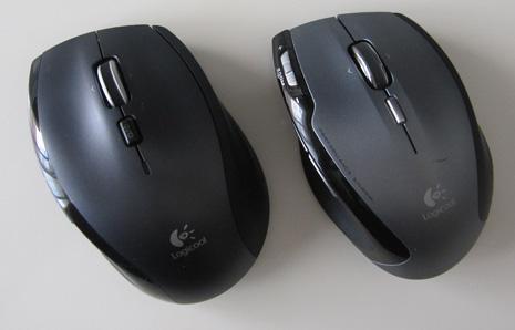 左がM705rで、右がVX-R